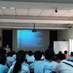 カンボジアの大学での講義その1