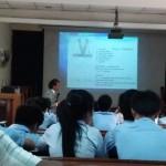 カンボジアの大学での講義その2