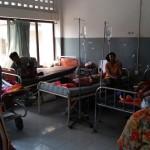 カンボジアの病院内
