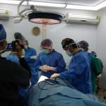 ラオス癌手術